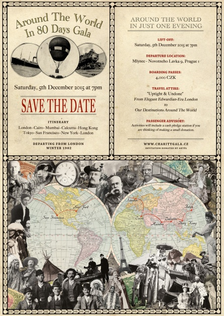 Around the world save the date